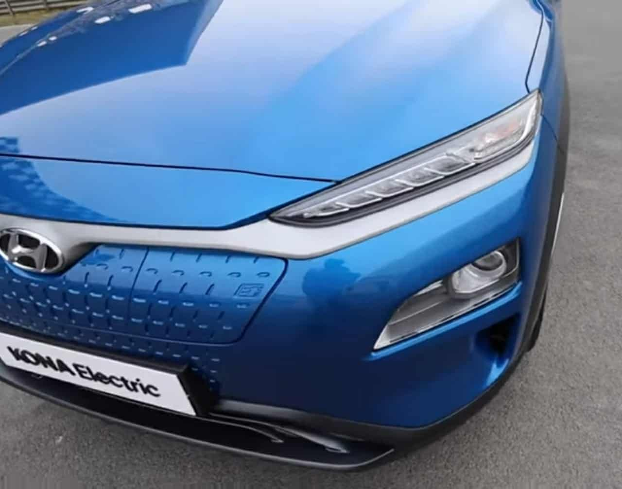 Hyundai Kona Electric headlight