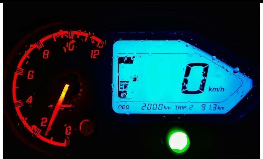 Speedometer of Bajaj Pulsar 150