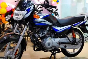 on road price of Bajaj CT 100 with variants KS, ES alloy