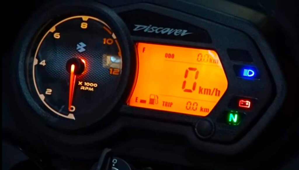 Bajaj Discover 125 Speedometer