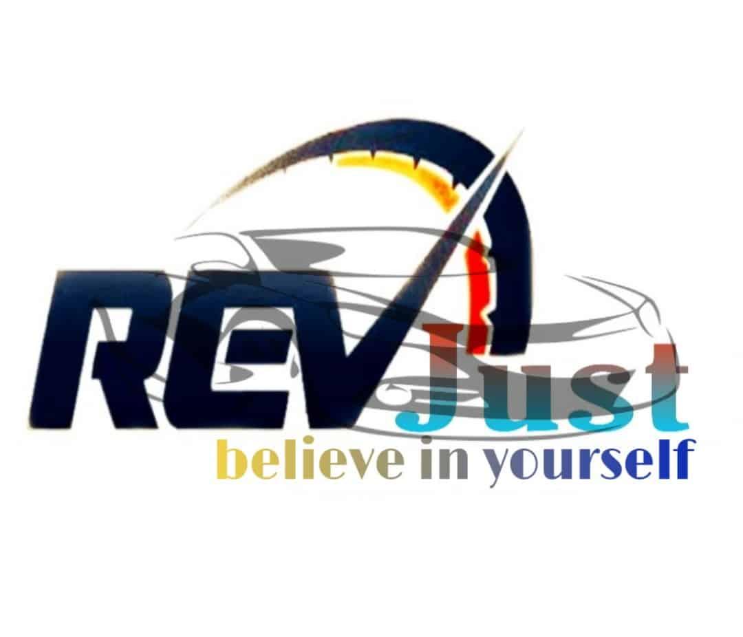 Revjust logo