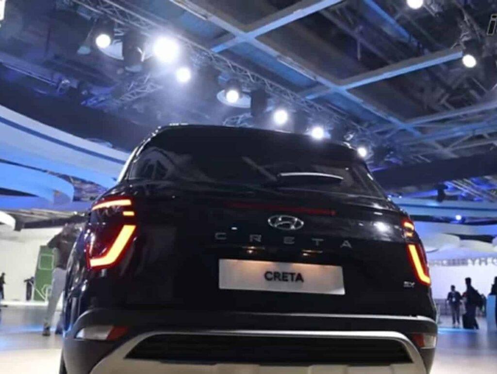 Hyundai creta 2020 Rear side