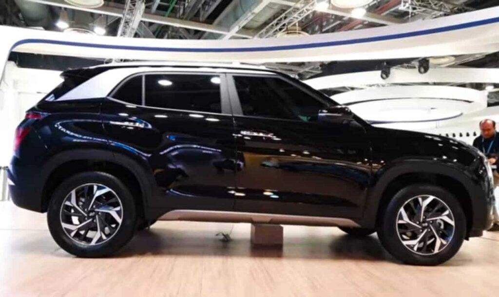 Hyundai creta 2020 Sideview
