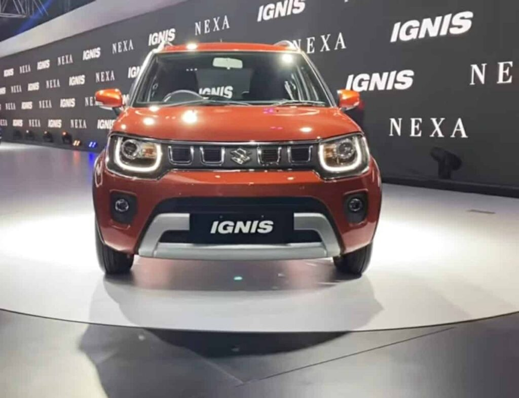 Maruti Ignis facelift latest car