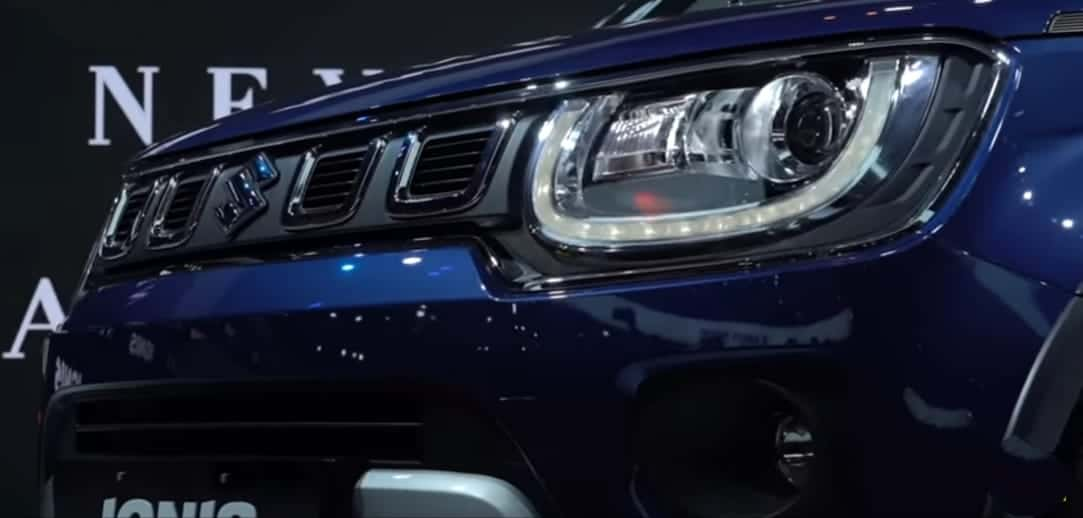 LED Headlamps Of Ignis Facelift