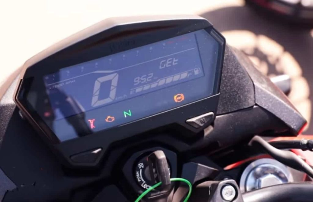 Hero Xtreme 160R instrument cluster