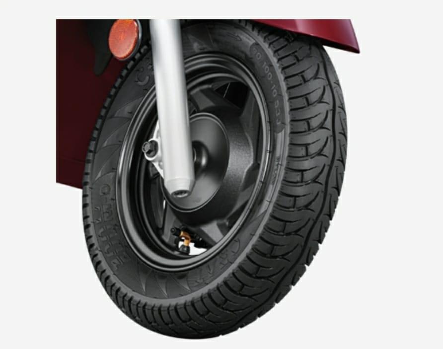 Tubeless tyres of destini 125