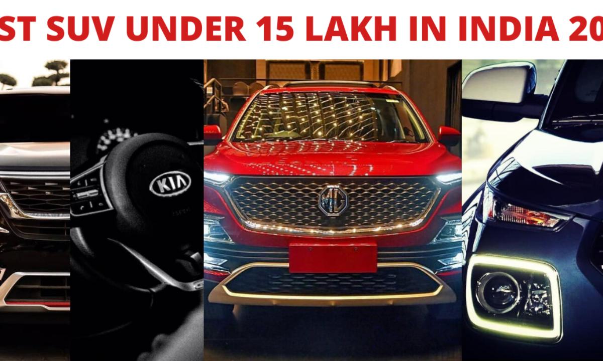 9 Best Suv Under 15 Lakh In India Price Mileage