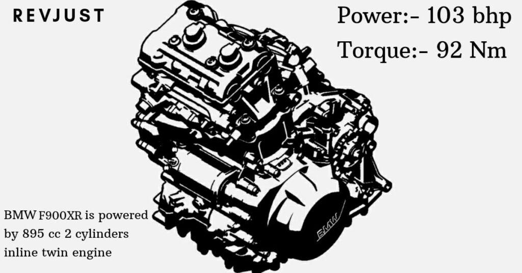 BMW F900XR Engine.