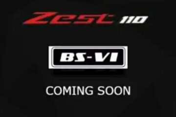 TVS is going to launch its Scotty Zest 110 with BS6 Emission Norms, Teaser launched in april 2020.