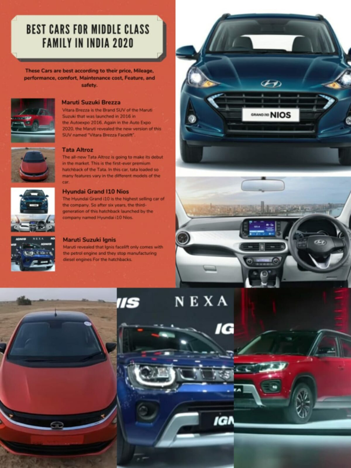 18 Best Cars For Middle Class Family In India Dec 2020
