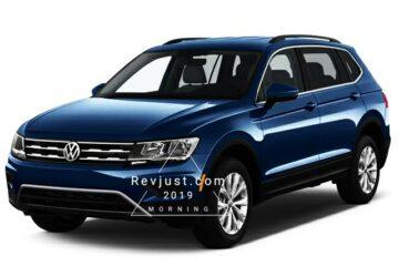 5 Seater volkeswagen Tiguan get facelift