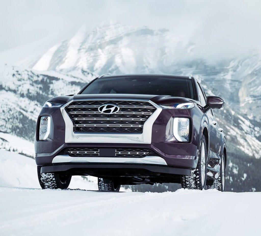 All new Hyundai Palisade 7 seater svu