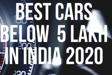 CARS below 5 lakh in india 2020 with price , top 7 cars