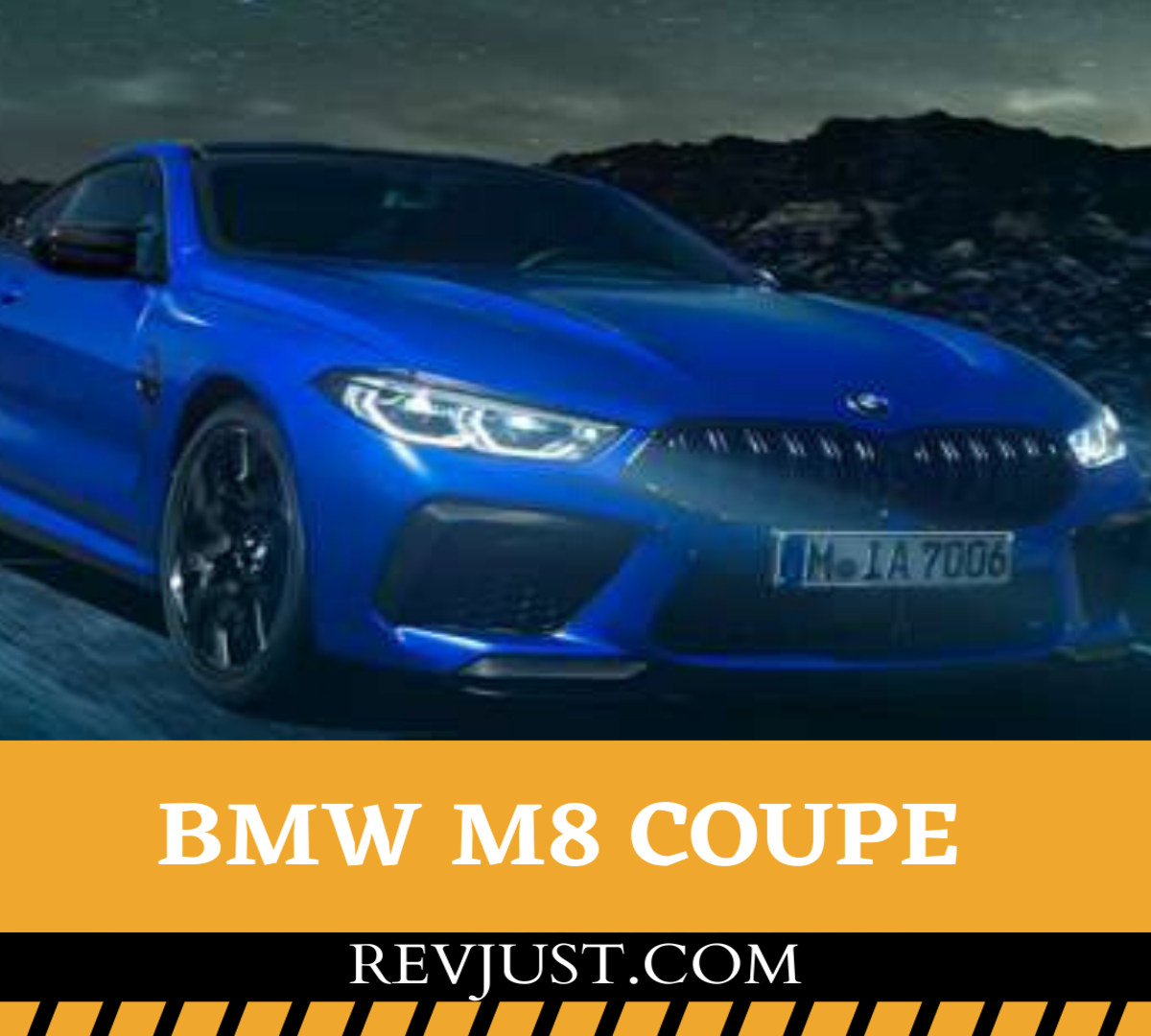 BMW M8 coupe 2020 INDIA