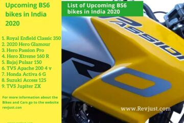 List of Upcoming BS6 bikes in india 2020