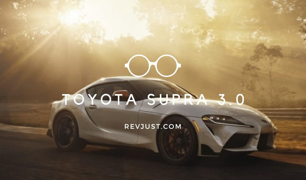 This is the 2020 Toyots Supra 3.0 better than before with powerful engine.