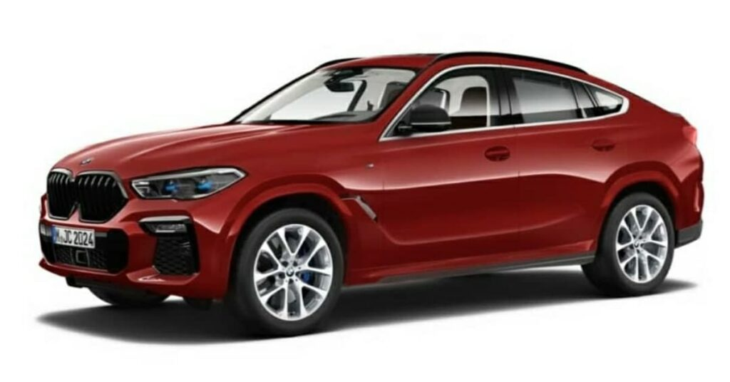 Third Generation BMW X6 launched with 2 trims xline and M sport trim