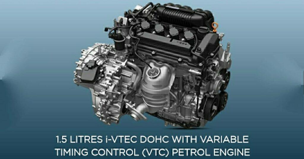 2020 Honda City New 1.5 litre petrol engine.