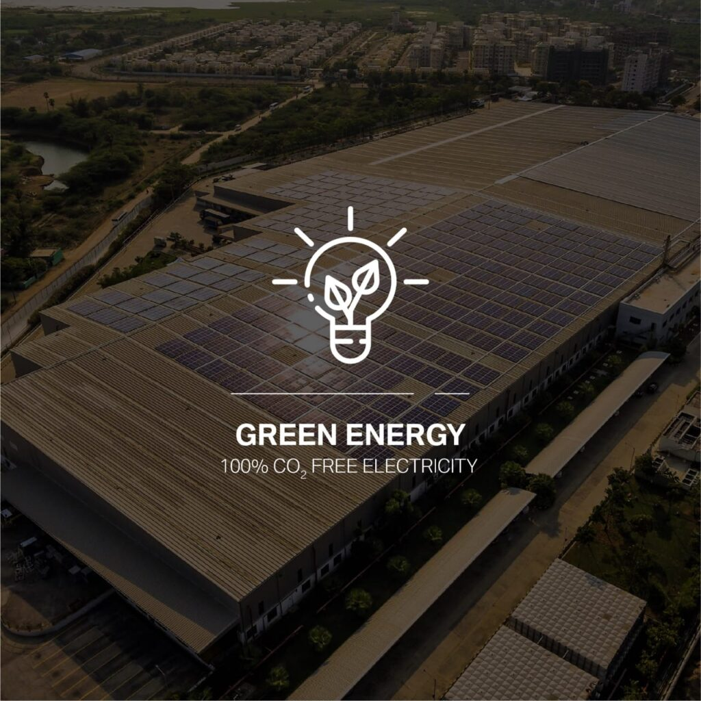 BMW Group Plant is focusing on increasing the use of renewable sources of energy to make a Plant fully suitable for a green future.