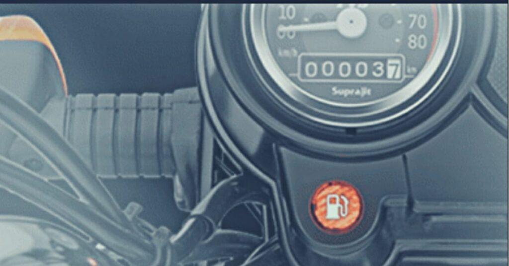 BS6 TVS XL 100 Speedometer