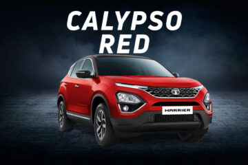 calypso red color of tata harrier