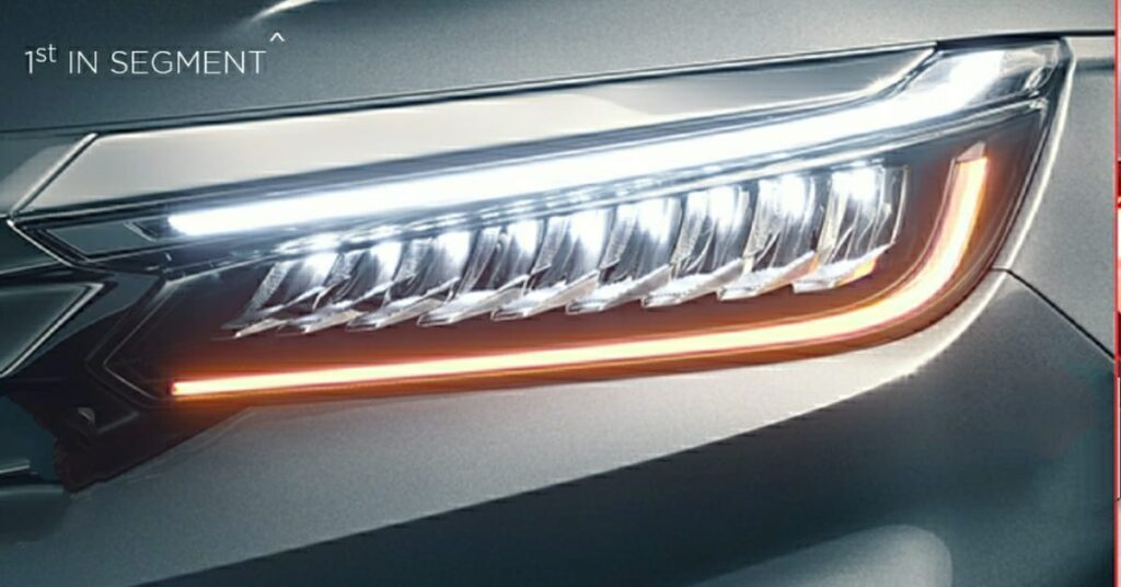 Full LED Headlamps with 9 LED Array Inline Shell