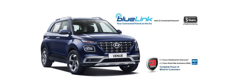 Hyundai venue crossed the 1 lakh sales mark
