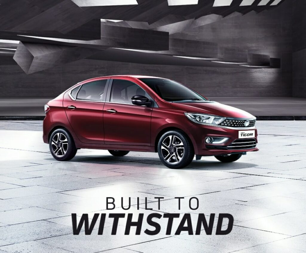 Tata Tigor is Made on the Tata X1 Platform and this is the same platform used in 2008 for making the Tata Indica Vista and for Manza also.