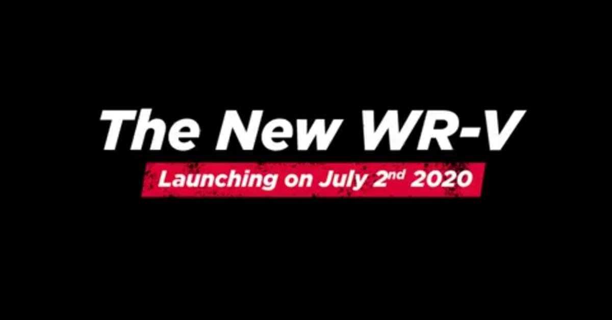 2020 Honda WR-V launching on 2 July 2020