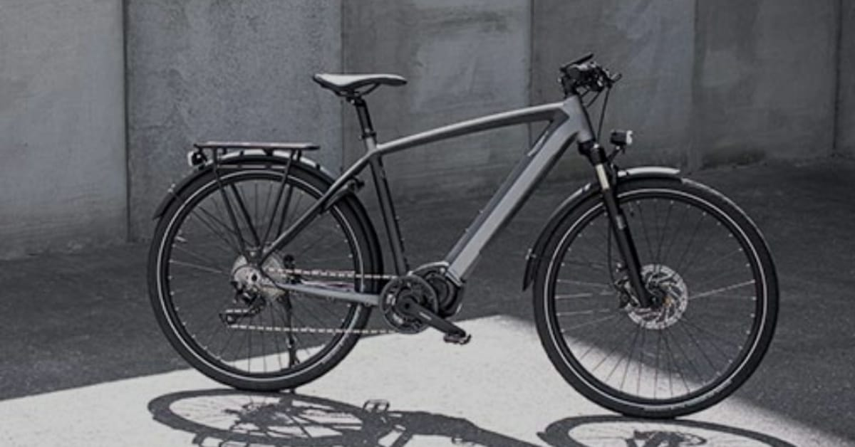 Trekker GT Triumph first electric bicycle