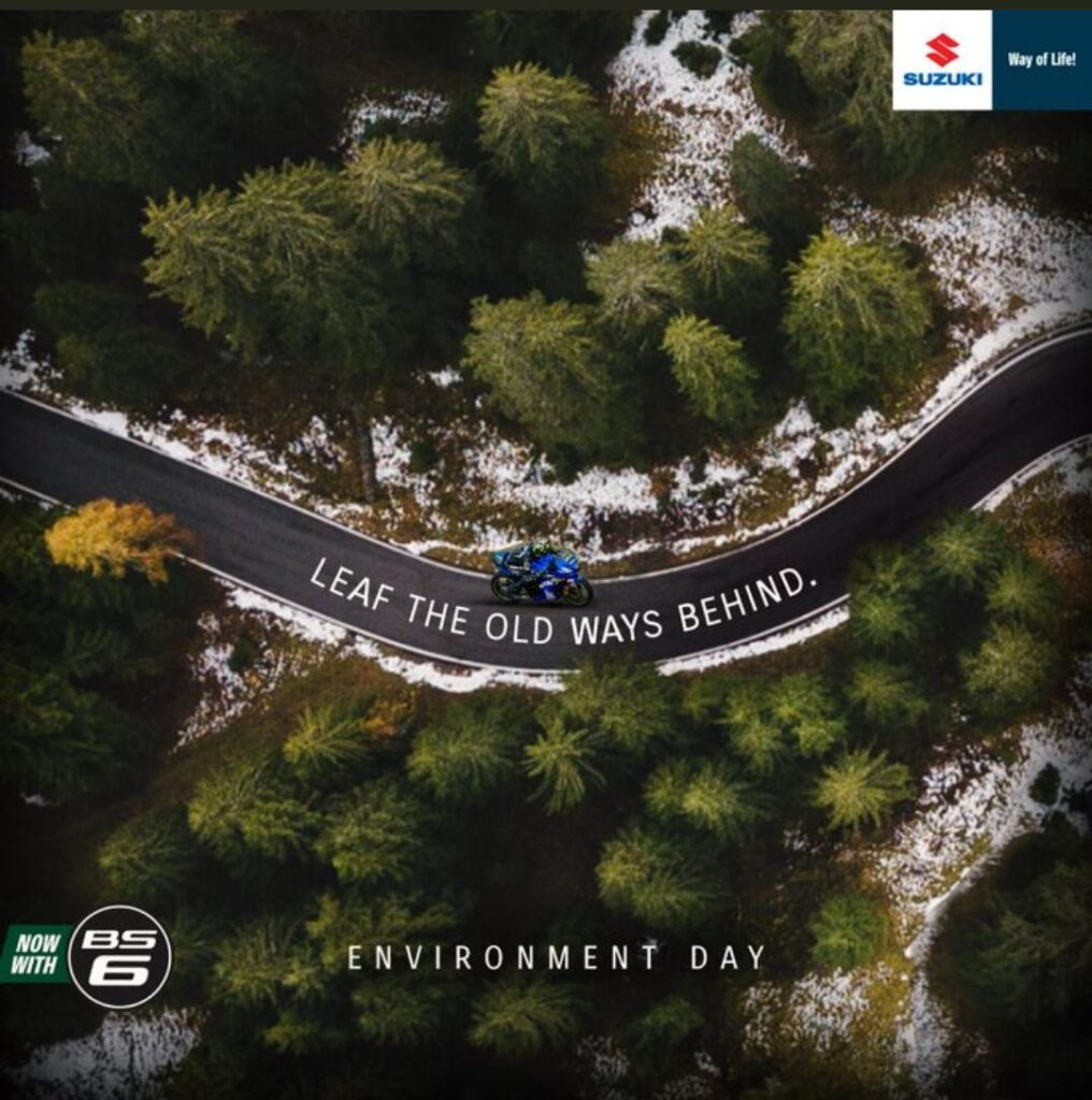 Suzuki Motorcycle India celebrates World Environment Day 2020