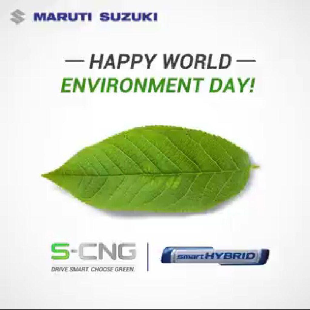 Maruti Suzuki celebrates World Environment Day 2020