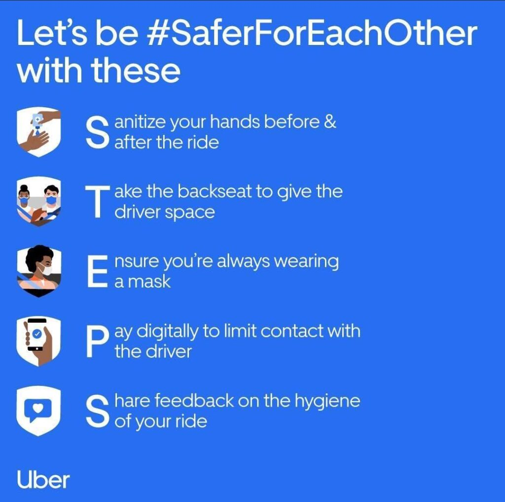safety measures taken by Uber