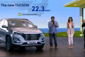 2020 Hyundai Tucson launched in india at Rs 22.30 Lakhs