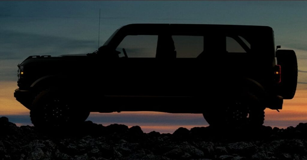 Ford Bronco 4 Seater Version