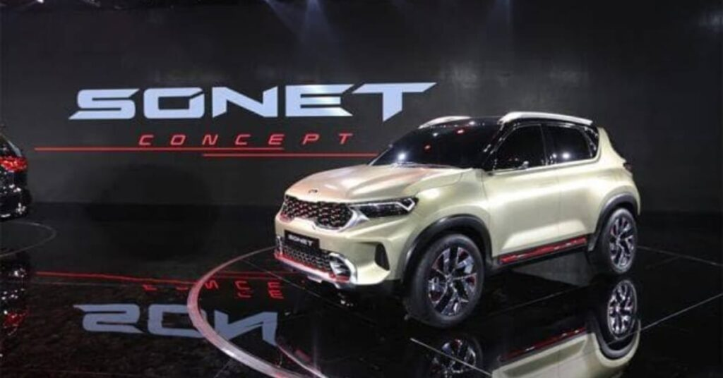 Kia Sonet introduced in Auto expo 2020