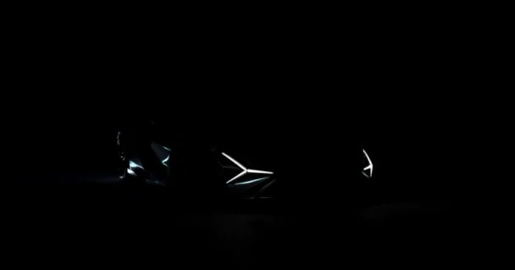 The cool design of LED Headlamps of Sian Roadster