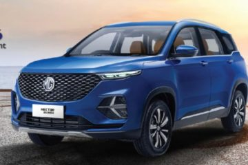 The launch date of MG Hector plus is revealed now