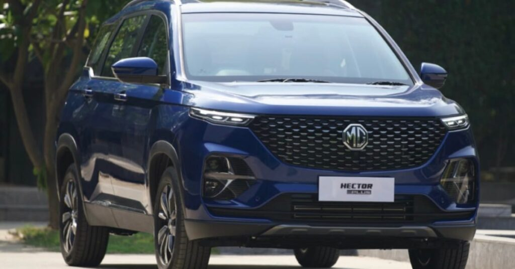 MG Hector Plus Booking starts at Rs 50000