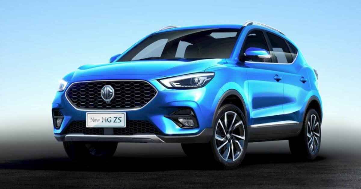MG ZS Facelift launched in UK
