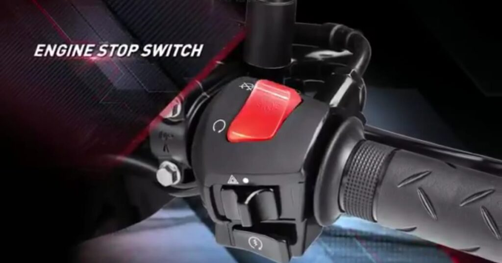 Engine Stop switch in Honda xblade