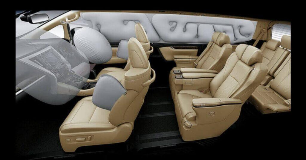 New Toyota Vellfire 7 Air Bags