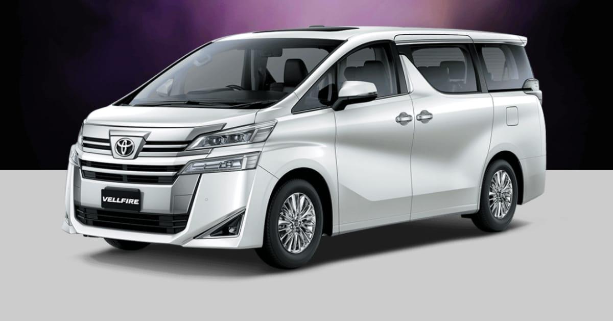 New Toyota Vellfire self charging Hybrid Vehicle