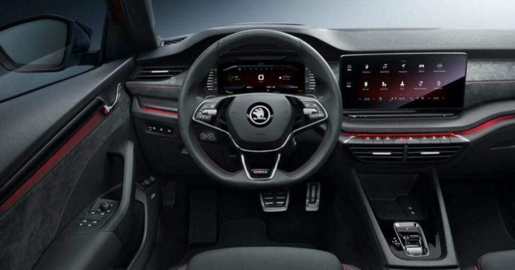 Interior of 2020 Octavia RS