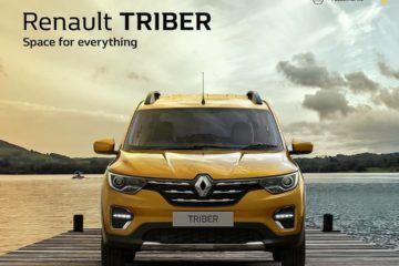 Renault Triber key-less entry