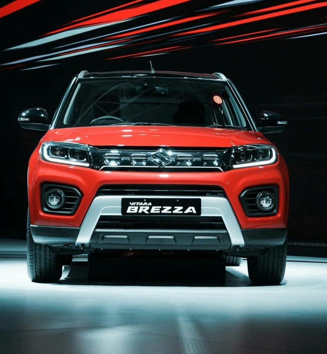All-New Vitara Brezza Equipped with Dual function LED DRLs
