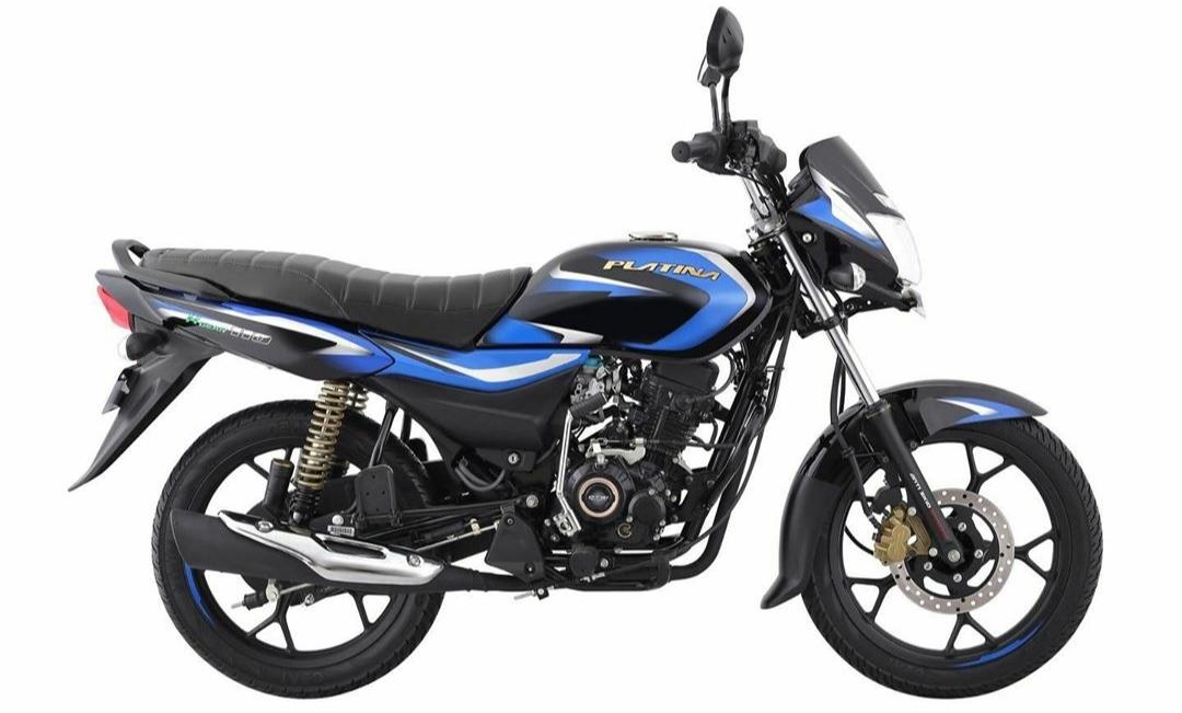 BAJAJ Platina 100 BS6 prices hiked by Rs. 2432