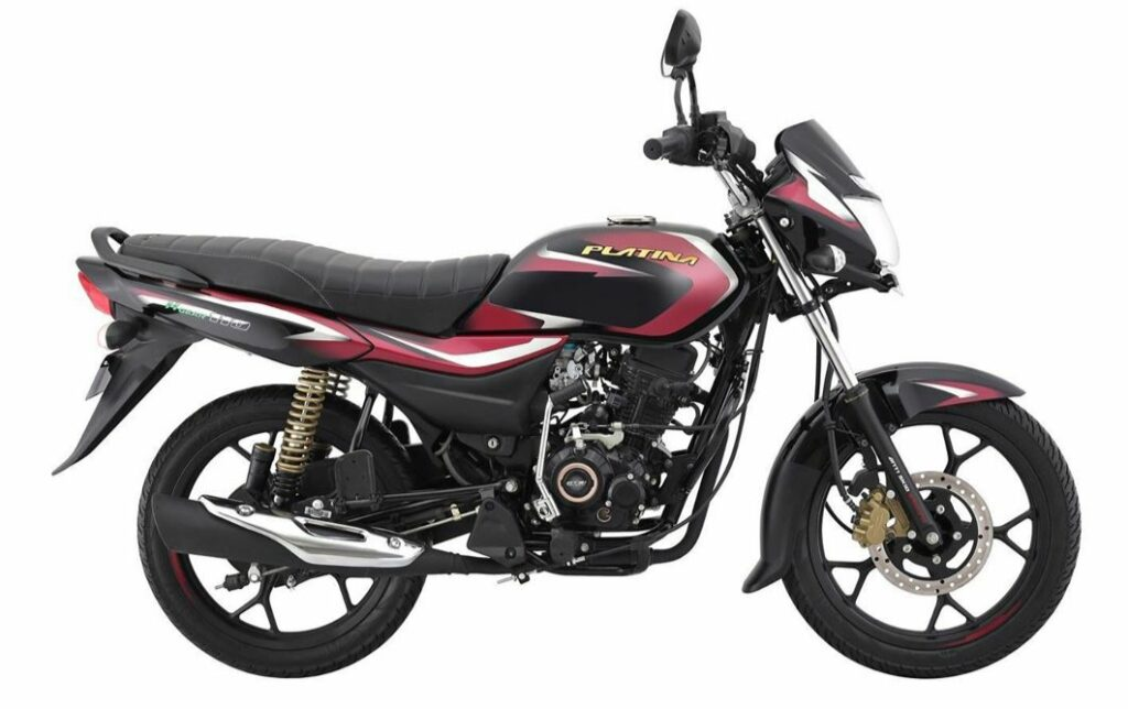 BAJAJ Platina 100 BS6 prices hiked by Rs. 2432