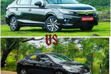 Comparison Between Honda city and All-New Hyundai Verna.